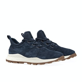 Timberland Brooklyn Lace Oxford Shoes - Navy Suede