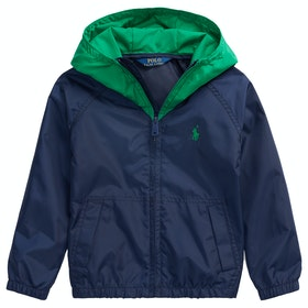 Polo Ralph Lauren Water-Resistant Junior Boy's Jacket - Newport Navy