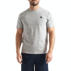 Henri Lloyd Cowes Men's Short Sleeve T-Shirt - Grey Melange