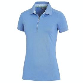 Schockemöhle Fiona Ladies Polo Shirt - Sapphire