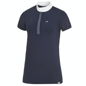 Schockemöhle Larissa Ladies Competition Shirt - Moonlght Blue