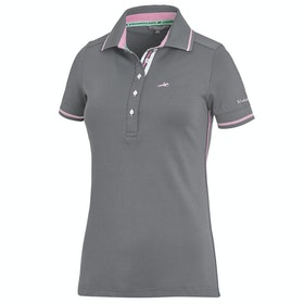 Schockemöhle Manoli Ladies Polo Shirt - Asphalt