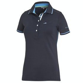 Schockemöhle Manoli Ladies Polo Shirt - Moonlight Blue