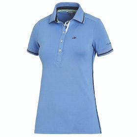 Schockemöhle Manoli Ladies Polo Shirt - Sapphire
