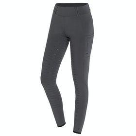 Schockemöhle Pocket Ladies Riding Tights - Asphalt