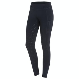 Schockemöhle Pocket Ladies Riding Tights - Moonlght Blue
