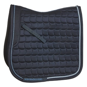 Schockemöhle Sanya Dressage Saddlepads - Moonlight Blue