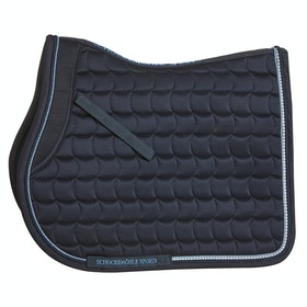 Schockemöhle Sanya Jumping Saddlepads - Moonlight Blue