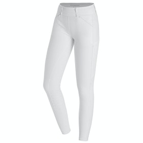 Schockemöhle Show Ladies Riding Tights - White