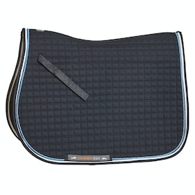 Schockemöhle Neo Star Dressage Full Size Saddlepads - Moonlight Blue