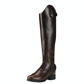 Ariat Bromont Pro Tall H20 Insulated Ladies Long Riding Boots - Waxed Chocolate