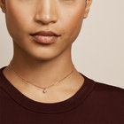 Ted Baker Nemarra: Nano Heart Choker Women's Necklace