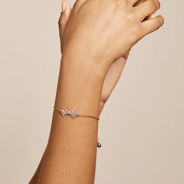 Ted Baker Brinnal Small Crystal Bow Bracelet Bracelet