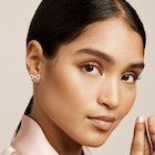 Ted Baker Pemmi Small Pearl Bow Stud Earrings
