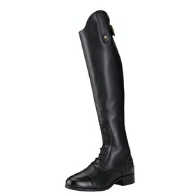 Ariat Contour II Field Zip Ladies Long Riding Boots - Black