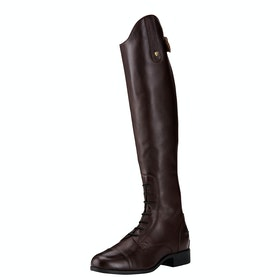 Ariat Contour II Field Zip Ladies Long Riding Boots - Sienna