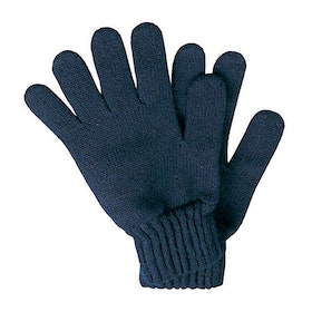 Barbour Lambswool Men's Gloves - Navy