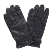 Barbour Burnished Leather Insulated Men's Gloves