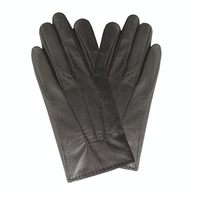 Dents Aviemore Touchscreen Leather Palm Vent Herren Handschuhe - Black