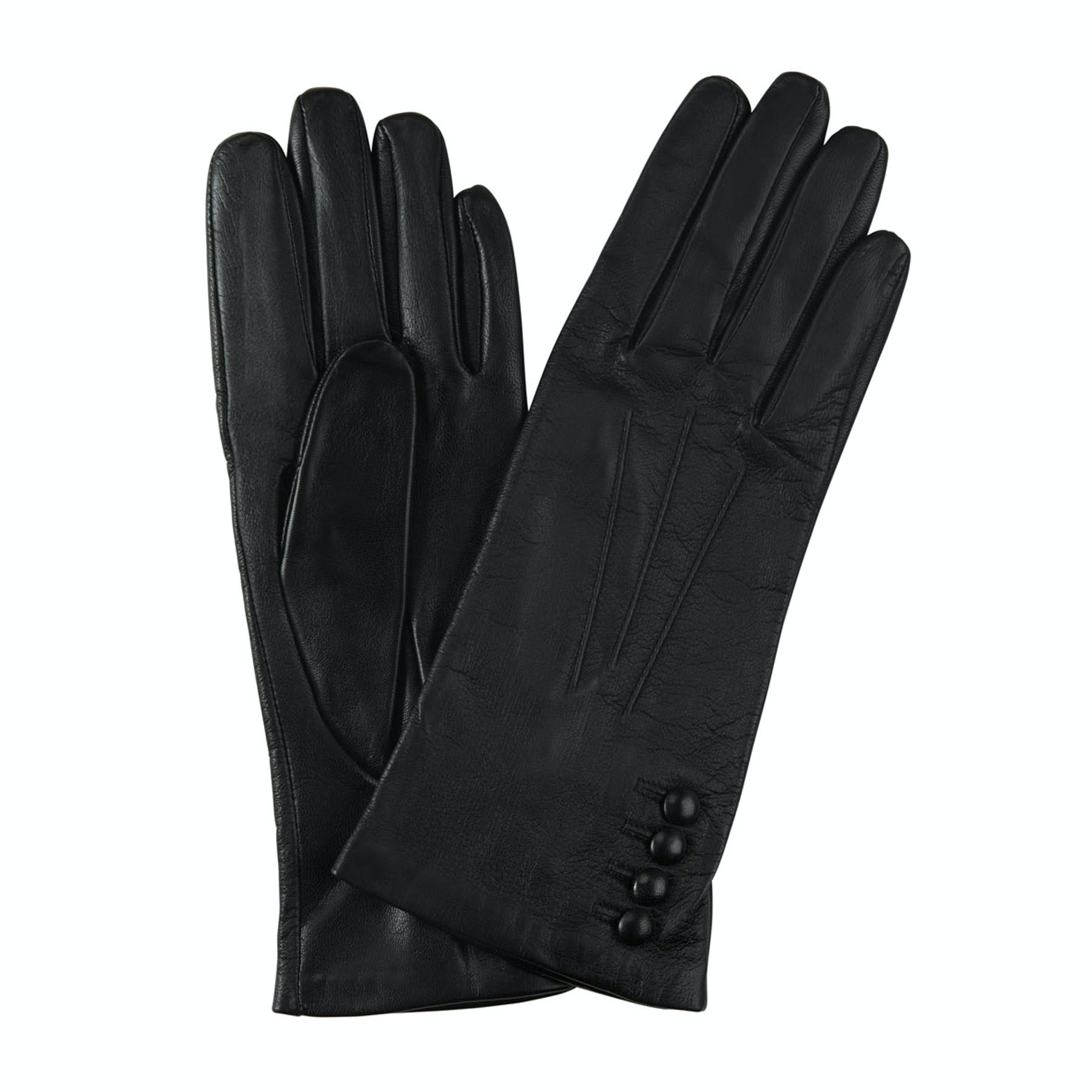 Keswick Silk lined leather gloves Dents