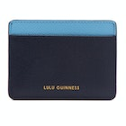 Lulu Guinness Cate Leather Women's Card Holder