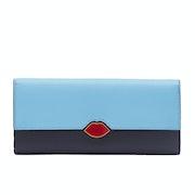 Lulu Guinness Lip Cut Out Cora Women's Wallet