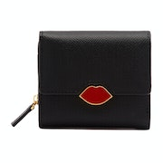 Lulu Guinness Pop Out Lip Saffie Women's Wallet
