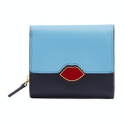 Lulu Guinness Leather Saffie Women's Wallet