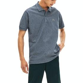 Lacoste Short Sleeve Men's Polo Shirt - Eclipse