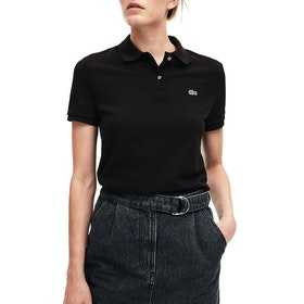 Polo Lacoste Basic - Black
