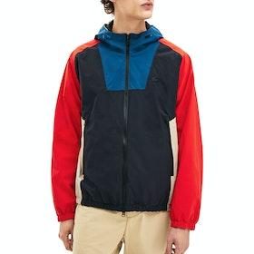 Lacoste Taffeta Blouson Jacket - Graphite Sombre Legion