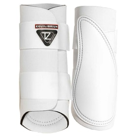 Equilibrium Tri-Zone Brushing Boot - White