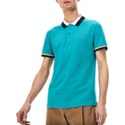 Chemise Polo Lacoste Classics Theme Ribbed Collar