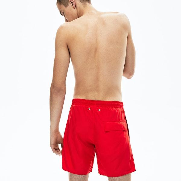 Shorts de Bain Lacoste Printed Taffeta