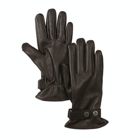 Aigle Deer Women's Gloves - Dark Brown