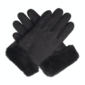 Dents Louisa Sheepskin Women's Gloves - Black