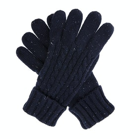 Dents Fareham Knitted Herren Handschuhe - Royal Blue