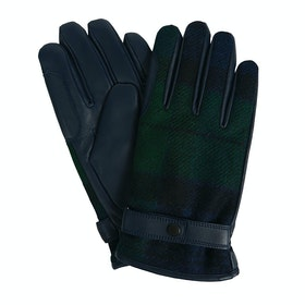 Barbour Newbrough Tartan Men's Gloves - Black Watch