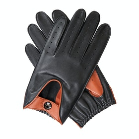Dents Aberdeen Gloves - Black High Tan