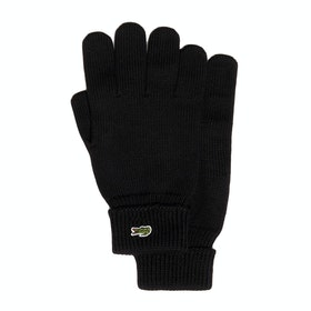 Lacoste Knitted Men's Gloves - Black