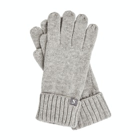 Joules Snowday Women's Gloves - Grey Marl
