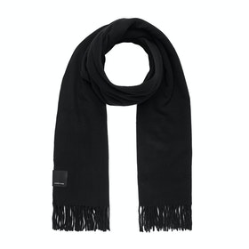 Canada Goose Merino Wool Solid Woven Women's Scarf - Black