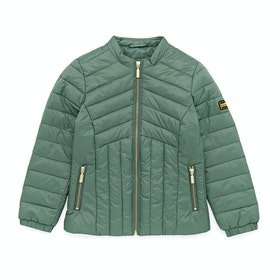 Barbour International Keeper Quilted Jacket - Tussock Green