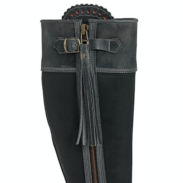 Penelope Chilvers Long Leather Tassel Damen Stiefel