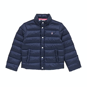 Polo Ralph Lauren Lightweight Padded Packaway Girl's Down Jacket - French Navy