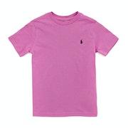 Polo Ralph Lauren Crew Neck Junior Boy's Short Sleeve T-Shirt