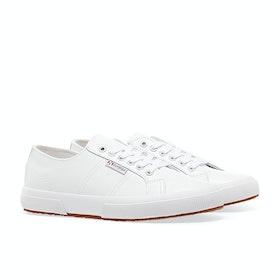 Superga 2750 Nappa Lea Schuhe - White