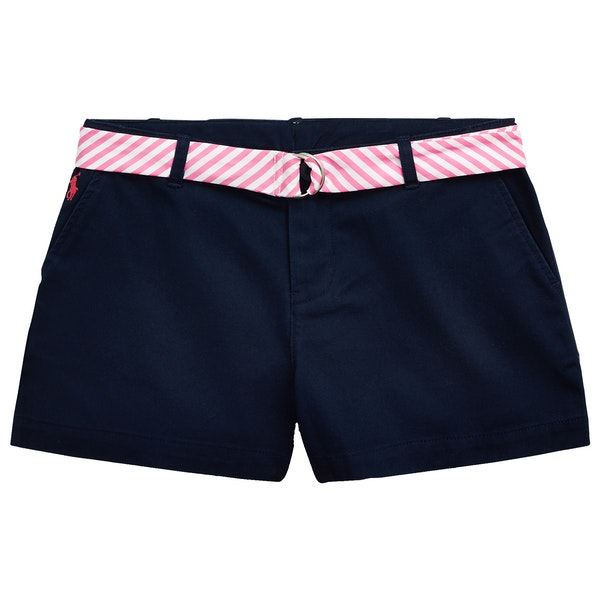 Polo Ralph Lauren Solid Chino Girl's Shorts