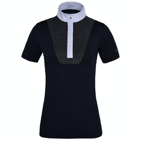 Kingsland Equestrian Delia Short Sleeve Ladies Competition Shirt - Navy
