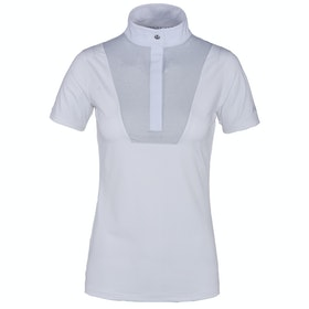 Kingsland Equestrian Delia Short Sleeve Ladies Competition Shirt - White